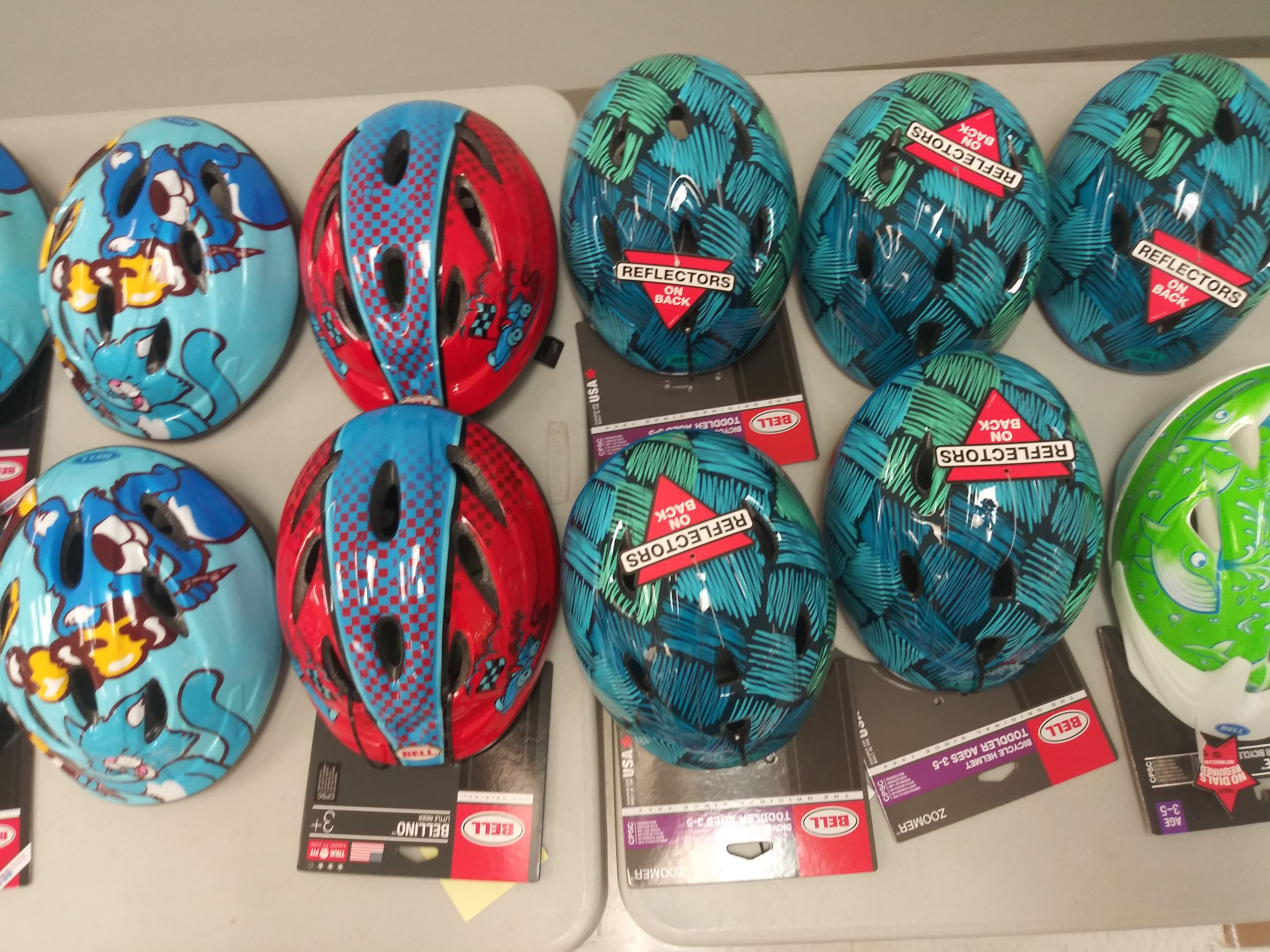 Bike Helmet Give Away