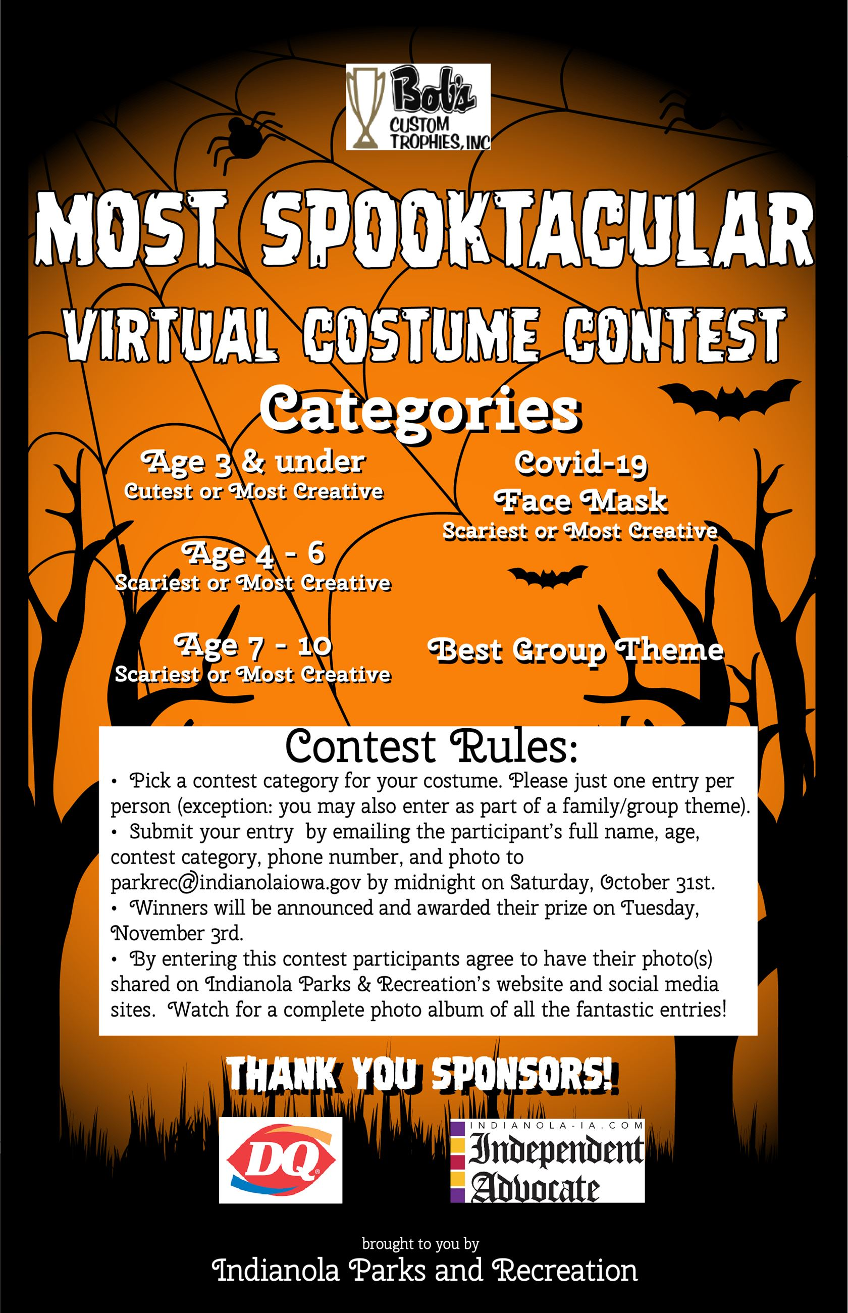2020 Children's Virtual Costume Contest