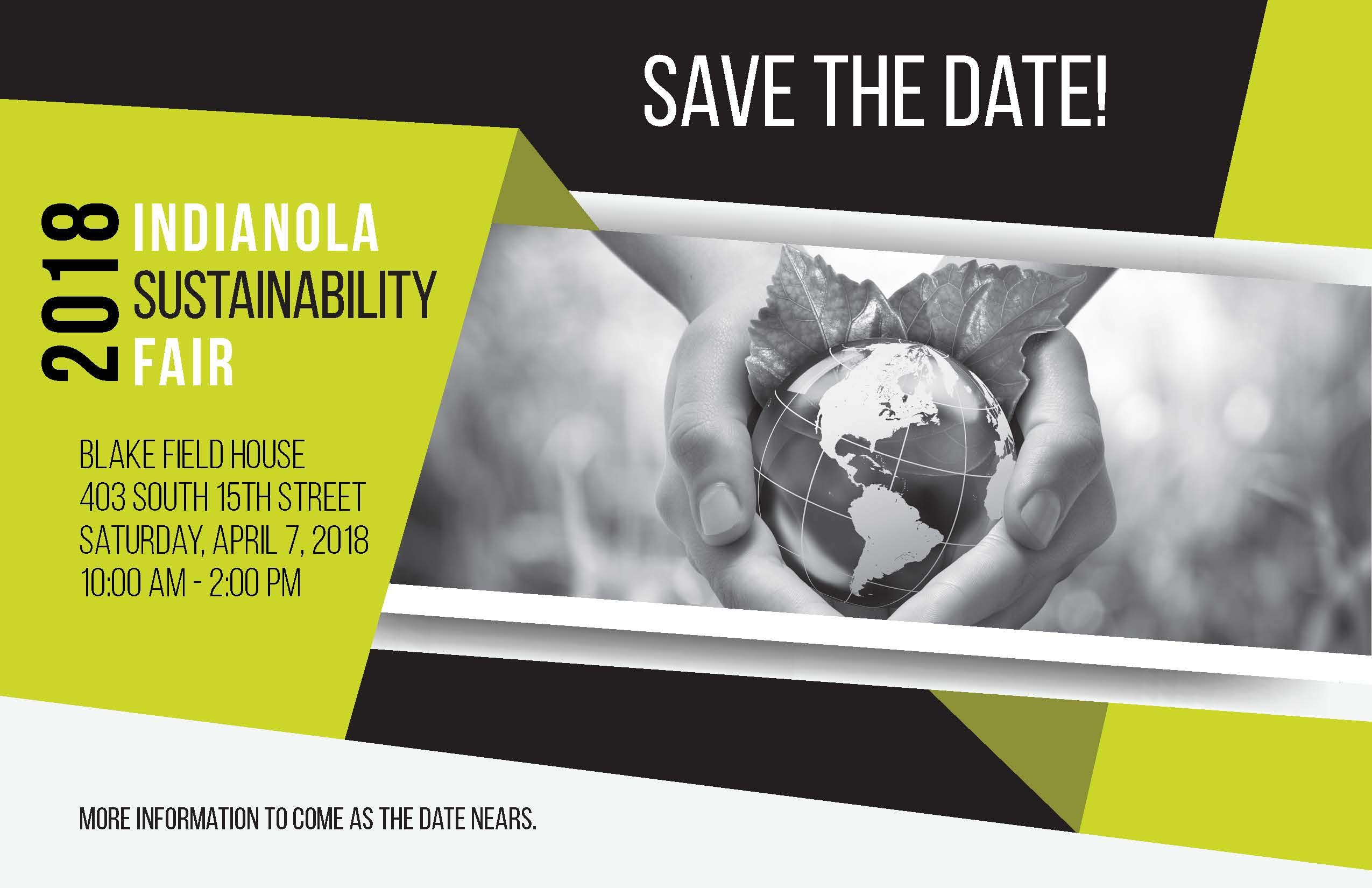 2018 Sustainability Fair - Save the Date
