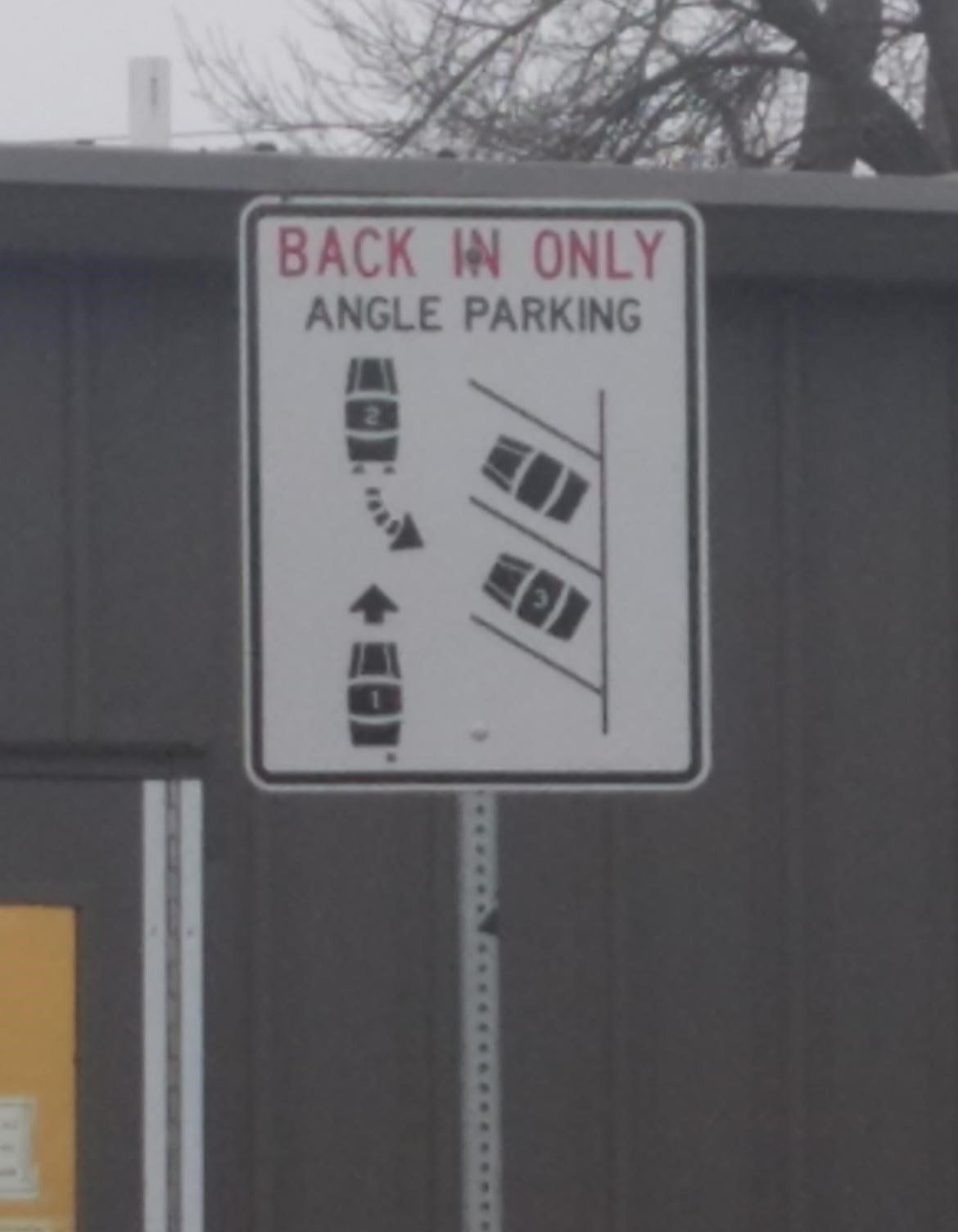 AngleParkingSign