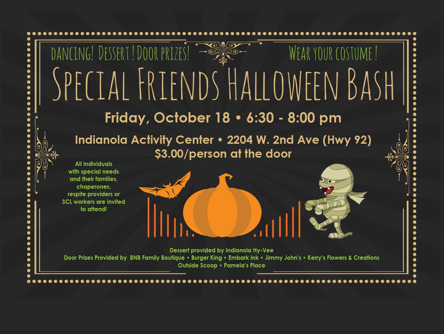 Special Friends Halloween