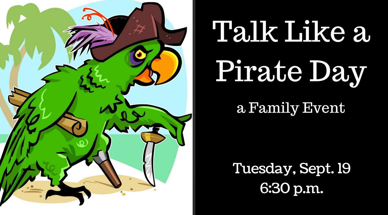 Talk Like a Pirate Day tv slide
