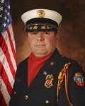 Honor Guard Commander Tom Spence