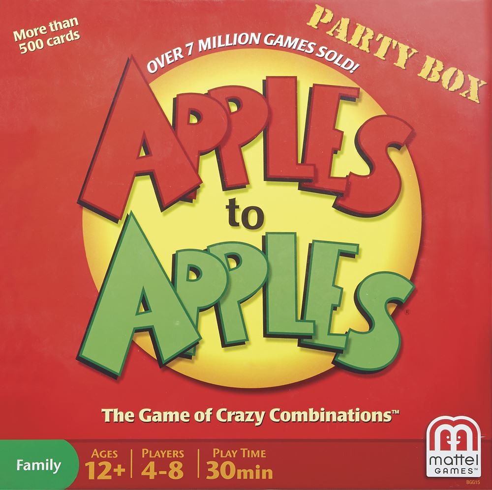 apples to apples 1